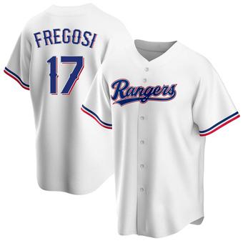 Youth Jim Fregosi Texas White Replica Home Baseball Jersey (Unsigned No Brands/Logos)